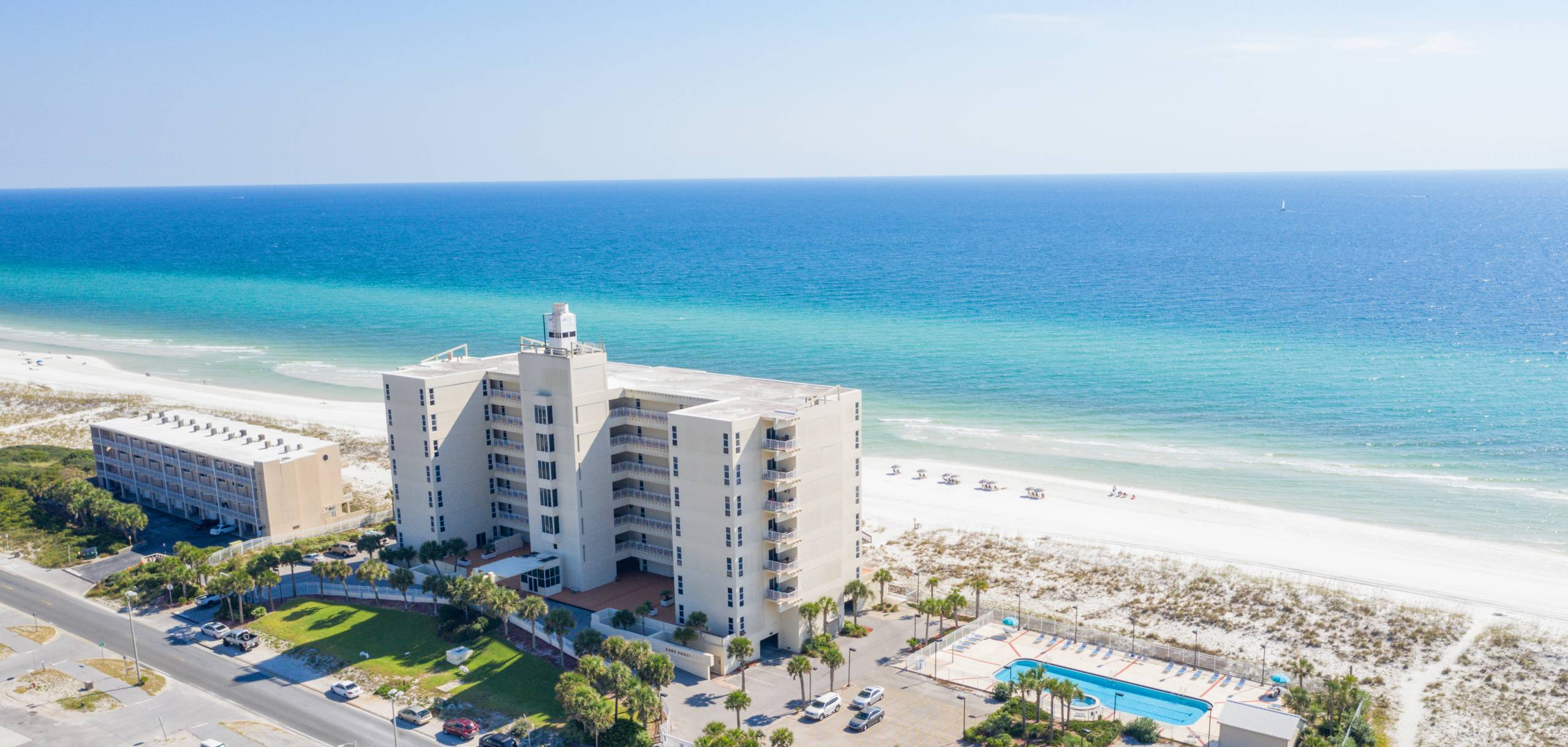 Condos and Town homes with amazing views of the Gulf!